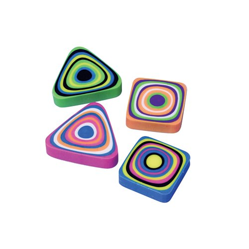 SWIRL ERASERS/1.25 IN. , SOLD BY 24 DOZENS by DollarItemDirect (Image #1)