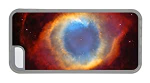 Hipster custom for iphone 6 4.7 cases helix nebula space TPU Transparent for Apple for iphone 6 4.7