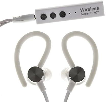 DAM. DMV082WHITE. Auriculares Bluetooth Deportivos St-002 Blancos ...