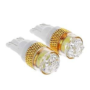 OXOX T10 1.5W Luz Blanca Bombilla LED para el coche (12V DC, 2 pcs)