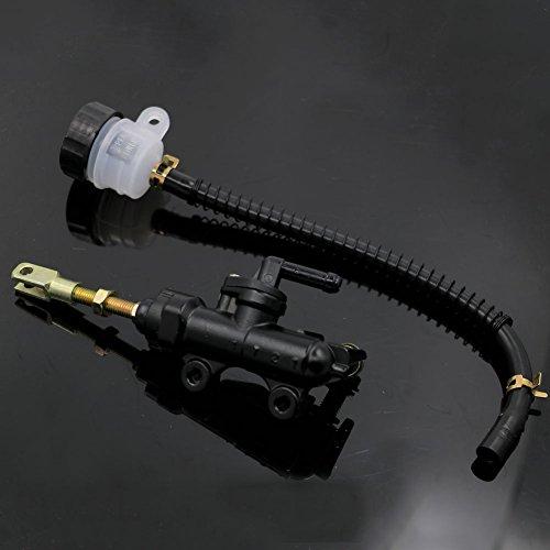(Rear Brake Master Cylinder with Fluid Oil Reservoir Replacement Part For Suzuki GSXR600/750 2006-2010 07 08 09)