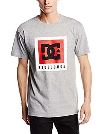 DC Shoes Boxed Out SS M Tees Knfh, Camiseta para Hombre, Gris (Heather Grey), XX-Large