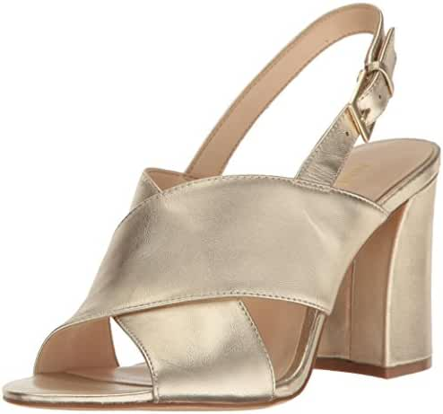 Nine West Women's Healta Metallic Dress Sandal