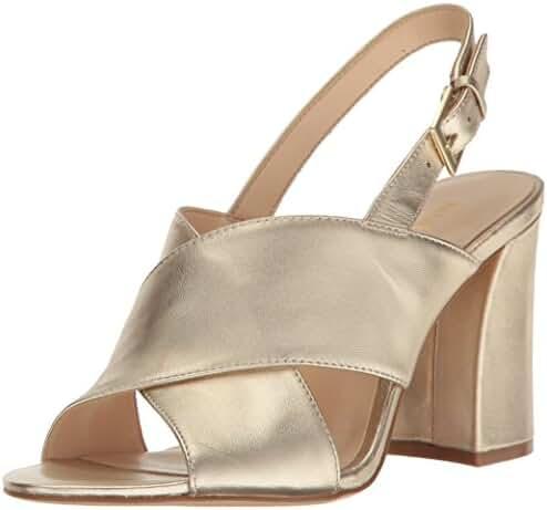 Nine West Women's Healta Metallic Dress Sandal