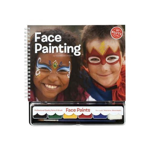Face Painting Book Kit- (Wizard Face Painting)