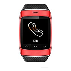 Generic Bluetooth Smart Watch Phone Color Red