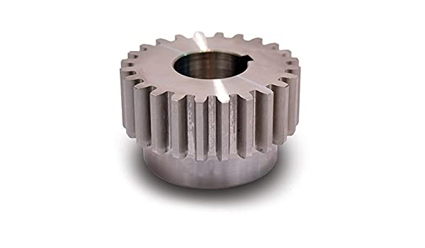 24 Pitch 0.250 Face Width Steel 18 Teeth Boston Gear H2418 Spur Gear Inch 14.5 Pressure Angle 0.312 Bore 0.833 OD