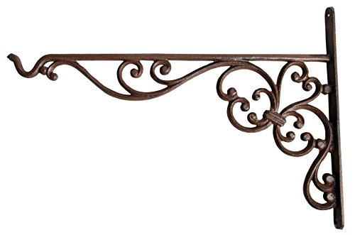 Esschert Design Cast Iron Basket Hanger