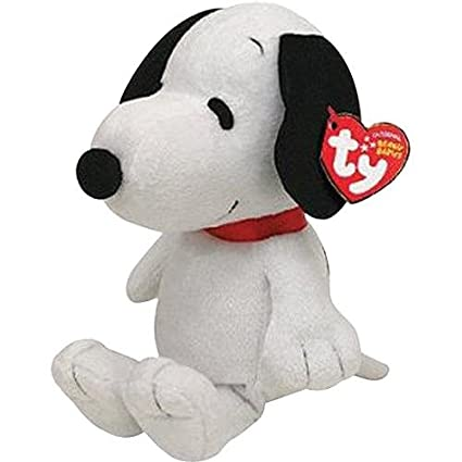 Amazon Com Ty Beanie Baby Snoopy With Sound Toys Games