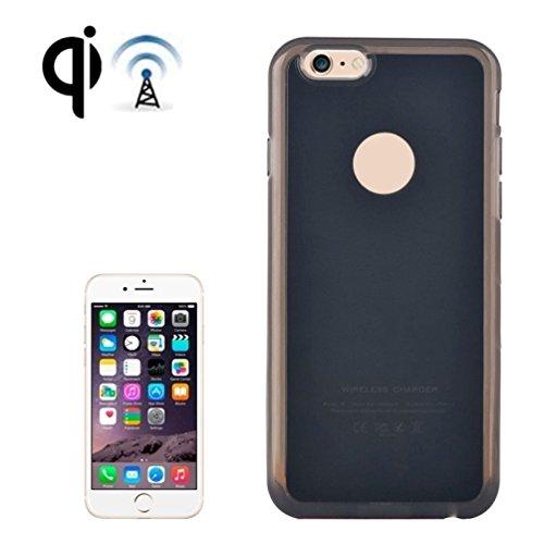 Network Shop | Étui Case avec récepteur de chargement sans fil Noir pour iPhone 6et 6S Plus de tierces Parties