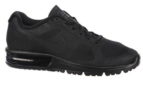 Nike Air Max Donne Sequent Scarpa Da Corsa Nero Formato 7 M Di Noi