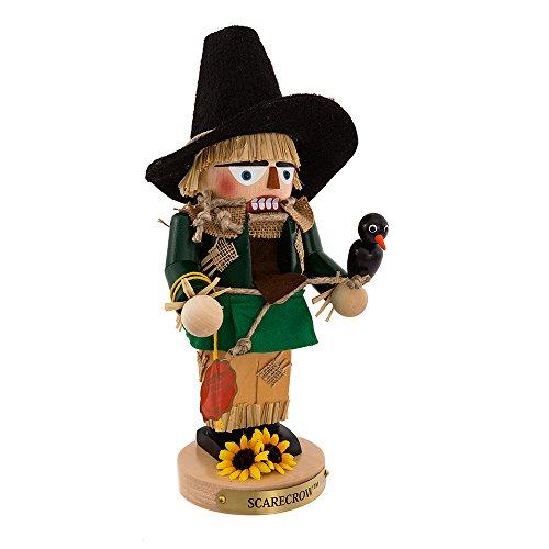 Steinbach Chubby Nutcrackers (Kurt Adler Steinbach Chubby Wizard of Oz Scarecrow Nutcracker, 12-Inch)