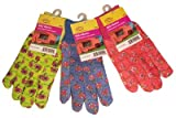 buy G & F 1823-3 JustForKids Soft Jersey Kids Garden Gloves, Kids Work Gloves, 3 Pairs Green/Red/Blue per Pack now, new 2018-2017 bestseller, review and Photo, best price $10.76