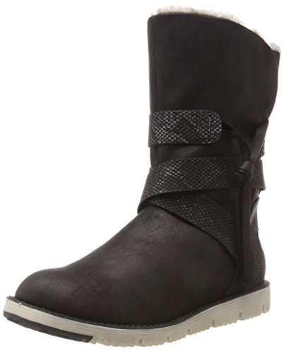 Oliver para Negro Mujer Black Comb 26481 Botas s BSFHqq