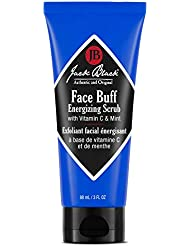 JACK BLACK Face Buff Energizing Scrub Deep-Cleaning Pre-shave Cleanser and Scrub, 3 Oz