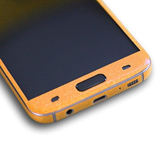 AppSkins Vorderseite Samsung Galaxy S7 Diamond pure gold