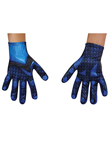 Disguise Blue Power Rangers Movie Child Gloves, One Size (Halo 4 Best Weapon)