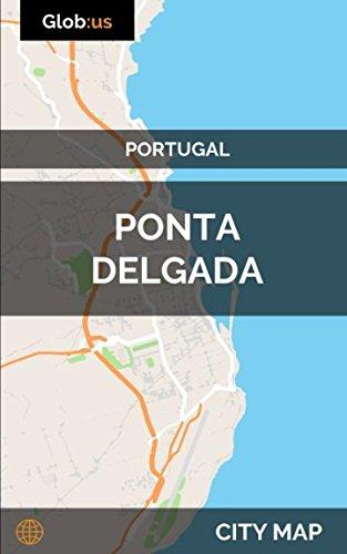 Ponta Delgada, Portugal - City Map...