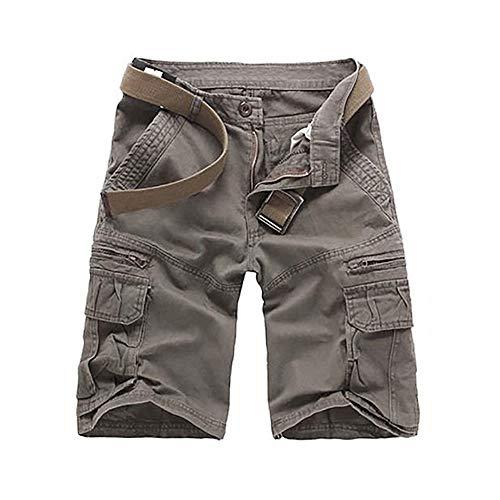 Chino Marca Braun Verano De Pantalones Bermuda Playa Tipo Carga Mode Cortos YF6wOqt