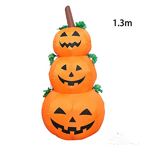 Fairy-Margot Inflatable Halloween Decorations Airblown LED Lighted Ghost Tree Pumpkins Archway Turkey Thanksgiving Spider Witch Hat for Sale,3 -