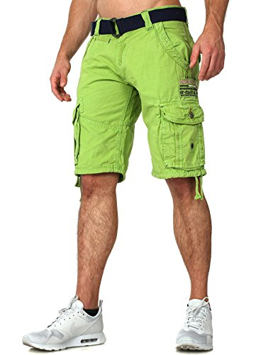 Shorts Ropa Geographical Norway Hombres corta Pantalones Verde