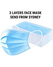FACE MASK - 3 Layer - 50 Pieces - Send from SYDNEY