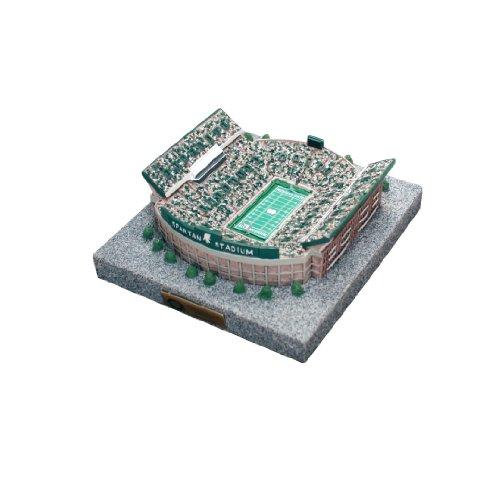 NCAA 9750 Limited Edition Gold Series Stadium Replica of Spartan Stadium Michigan State Spartans ()
