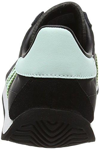 adidas Country Og, Zapatillas Unisex Adulto Negro (Core Black /      Ice Mint /      Vintage White /     St)