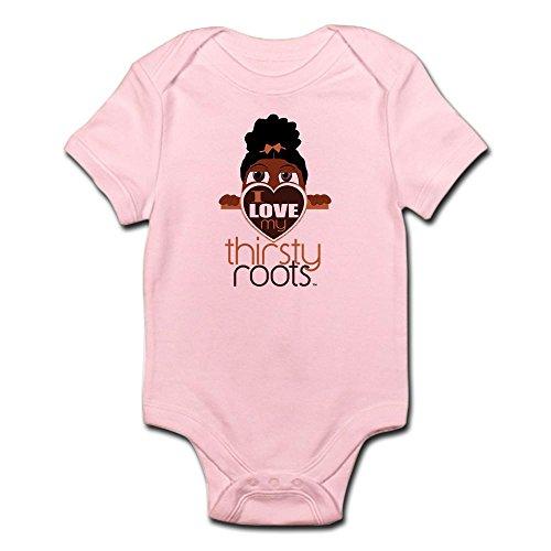 CafePress LIL' Girl Puff Ponytail Infant Bodysuit - Cute Infant Bodysuit Baby Romper