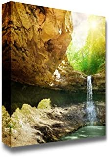 Waterfall in The Mountain Home Deoration Wall Decor