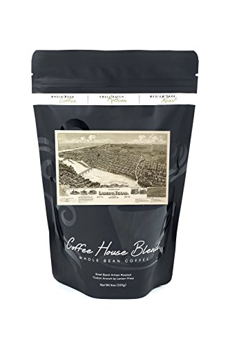 Laredo, Texas - Panoramic Map (8oz Whole Bean Small Batch Artisan Coffee - Bold & Strong Medium Dark Roast w/ - Texas Laredo In Stores