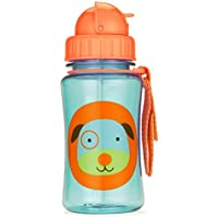 Skip Hop Forget Me Not Kid Straw Bottle, Darby Dog