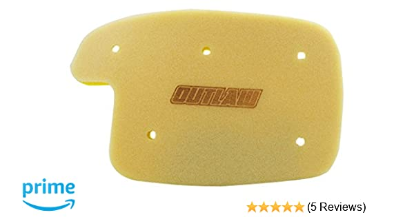 Outlaw Racing Super Seal Air Filter Made In Usa Arctic Cat 400 2x4 Fis 400 4x4 Auto Tbx Trv Plus Fis 500 4x4 Auto Tbx 500 4x4 Auto Trv Fis 650 H1