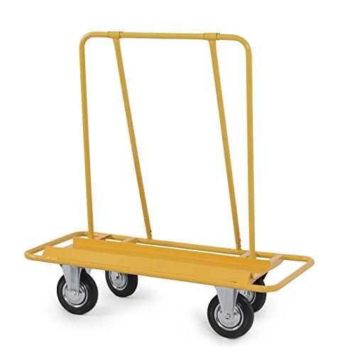 (ARKSEN Professional 2000LB Drywall Cart Dolly Handling Sheetrock Sheet Panel Service Cart, Yellow)