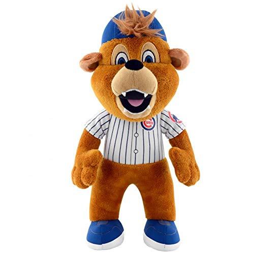 - MLB Chicago Cubs Clark Mascot Plush Figure, 10