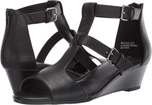 Aerosoles A2 Women's Applause Wedge Sandal Black 12 M US