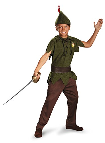 PETER PAN CHILD COSTUME, GREEN, 7-10 by (Girl Peter Pan Costumes)