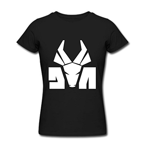 Die-Antwoord-Logo-Graphic-T-Shirt-For-Women-Black