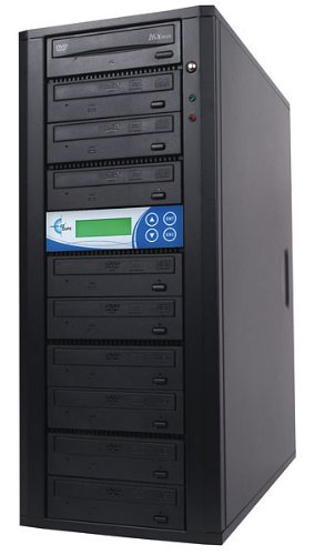 EZ-Dupe 9-Bay Disk-LOK DVD/CD Duplicator with