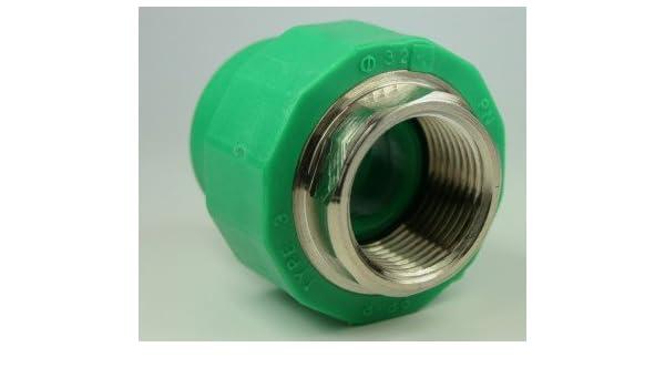 PPR Aqua Plus - Acoplamiento con rosca interior, 32 mm x 1 pulgadas: Amazon.es: Bricolaje y herramientas