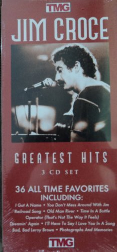Jim Croce greatest hits 3 CD SET 36 all time favorites