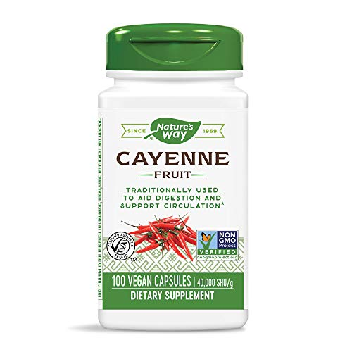 Cayenne Pepper Nature's Way 100 Caps