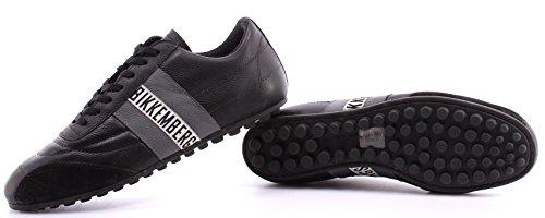 Zapatos Hombres Sneaker BIKKEMBERGS BKE 107248 Soccer 106 L Shoe Uni Black Antra