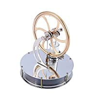 Low Temperature Stirling Engine Motor Steam Heat Education Model Toy Gift for Kids Craft Orname