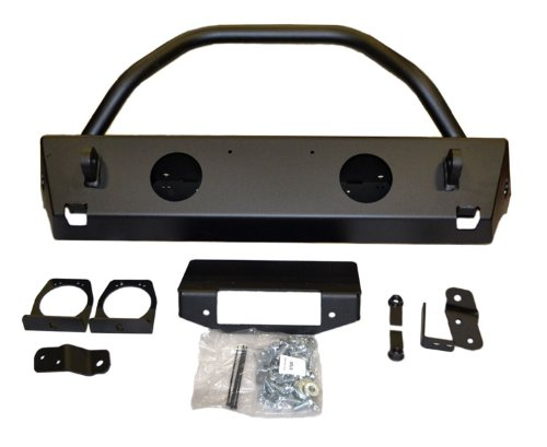 - WARN 87600 Rock Crawler Stubby JK Bumper with Grille Guard Tube