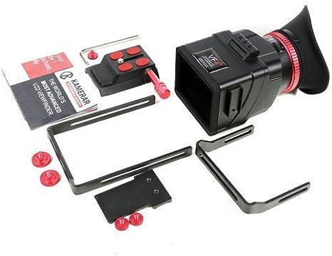 Marca Nueva Kamerar VF-4 + Plus LCD Visor con Ampliar Soporte ...
