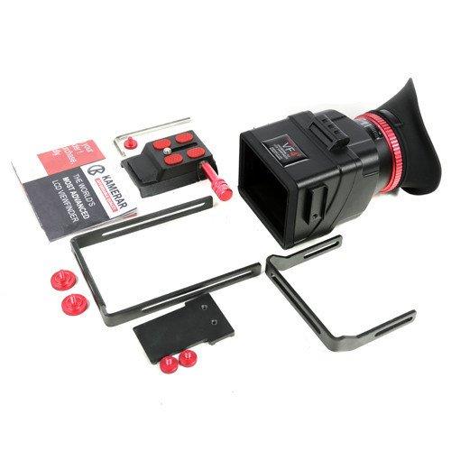 Brand New Kamerar VF-4+ Plus LCD View Finder with Extend Bracket for Dv Camera LED Light SLR B by Kamerar
