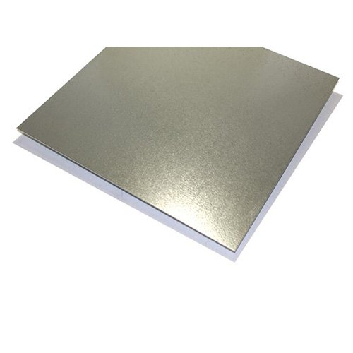 12 x 12 Inch x 0.02 (0.55mm) Aluminum Sheet Brushed Stainless Steel Sheet Plate Metal & Steel Plate Stainless Steel plate