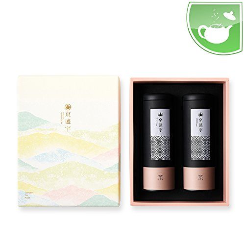 Taiwan Tea Gift Set(Includes 75g Loose Leaf Jasmine Green Tea & 50g Loose Leaf Tea Wunshan Baojhong) by JING SHENG YU CO., LTD.
