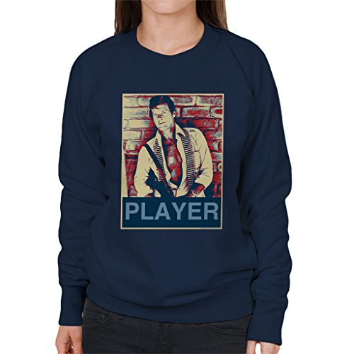 POD66 Roger Moore The Wild Geese South Africa 1977 Women's Sweatshirt by POD66
